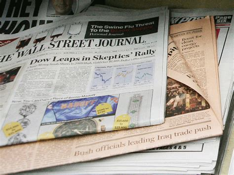 wall street journal sections the wall street journal is chopping down sections and