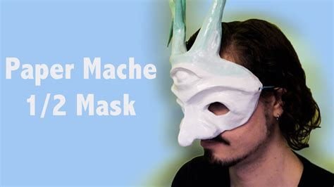 How To Make A Mask Out Of Paper For - how to make a paper mache mask