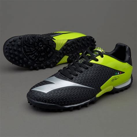 sepatu futsal diadora original match winner tech tf black