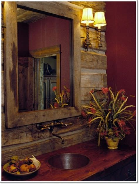 17 rustic bathroom ideas