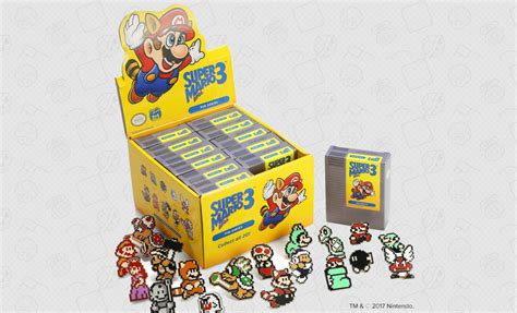 Mario Bros 3 Dot Pin Set by Arcade Store Now Offering Mario Bros 3 Blind
