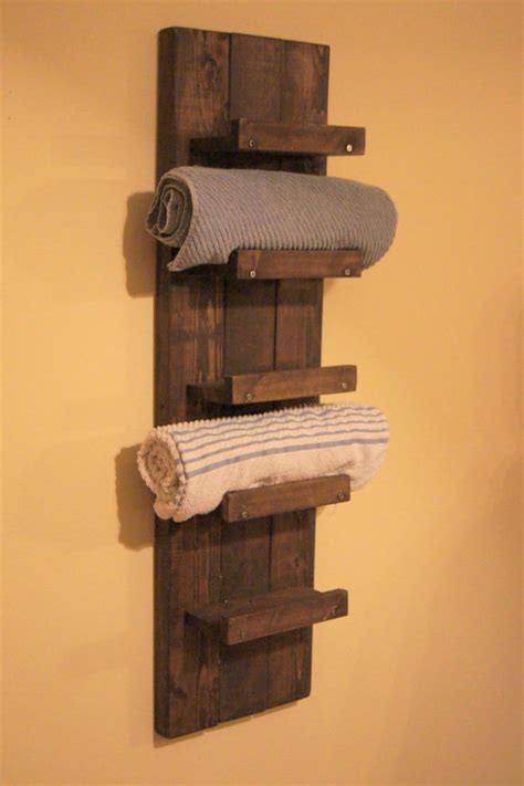 wooden bathroom towel rack shelf wall shelves design best mounted wall shelves for towels