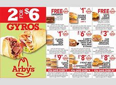 Arbys coupons 2018 july / Y pad kgb deals Arby S Coupons