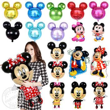 Balon Foil Baby Mickey Mouse Size 90 Cm best minnie mouse baby shower products on wanelo