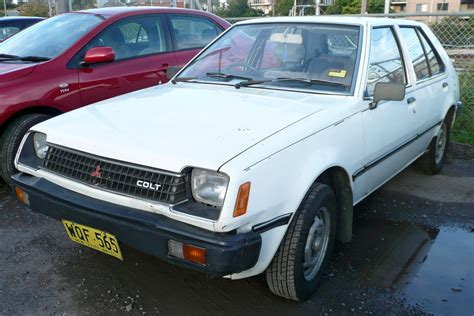 mitsubishi colt 1985 1985 mitsubishi colt photos informations articles