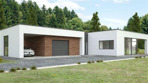 cocheras minimalistas casa minimalista una planta planos de casas modernas