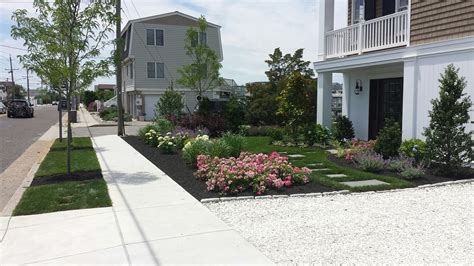 a yard after exclusive land design work