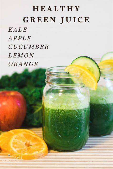 Green Detox Juice With Kale by 3 Fit Healthy Juice Recipes For The New Year