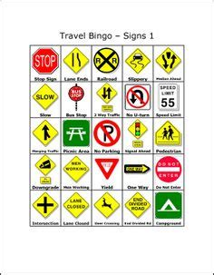 printable french road signs 1000 ideas about travel bingo on pinterest road trip