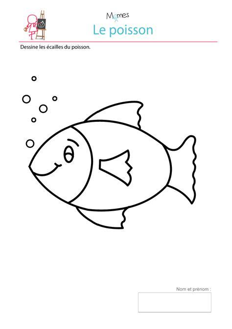 Modèle De Poisson mod 232 le de poisson 224 imprimer dessiner les 233 cailles