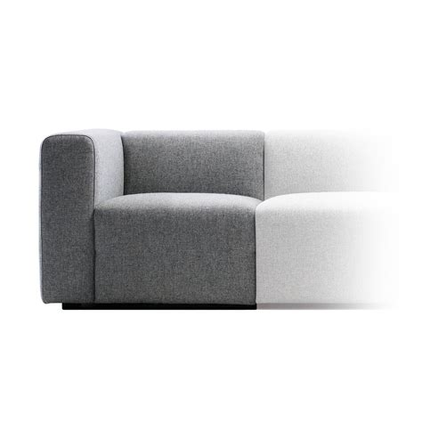 narrow couches mags sofa modules narrow by hay in our shop