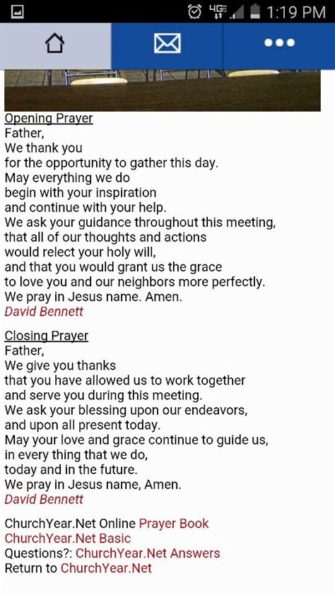 cloaing prayer for christmas progeamme opening and closing prayer pto prayers
