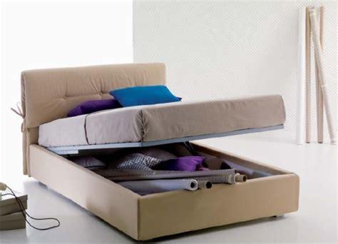 meccanismi per letti contenitori letti piazza e mezza con contenitore a ribalta