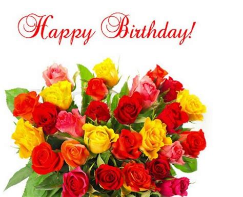 Happy Birthday Cards With Flowers 17 Images About Happy Birthday Flowers On Pinterest
