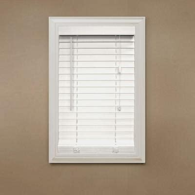 home decorators collection cut to width snow drift 9 16 in window blinds liquidation electric fireplaces tools