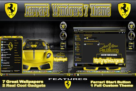 blog tips trik tutorial theme windows 7 ultimate terbaru theme windows 7 ferrari