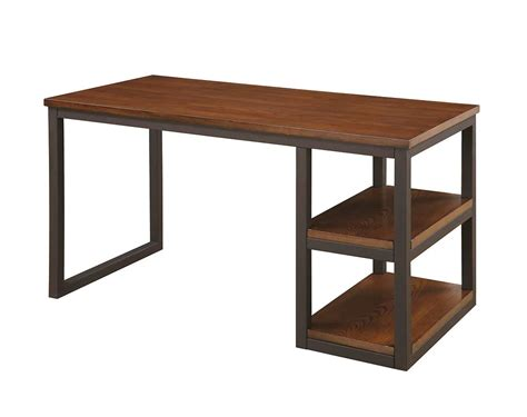 office furniture metal desk brown desk with black metal co 242 desks