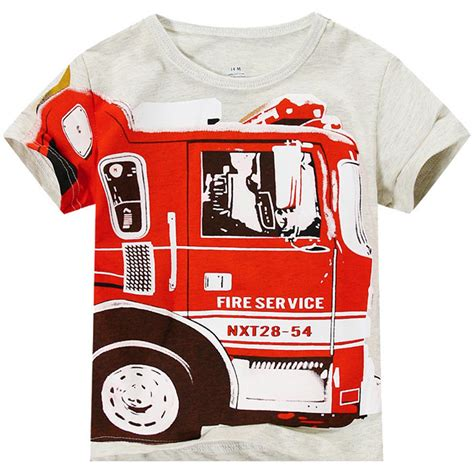 T Shirt Europe Truck Abu Abu baby boy t shirt children sleeve top shirt