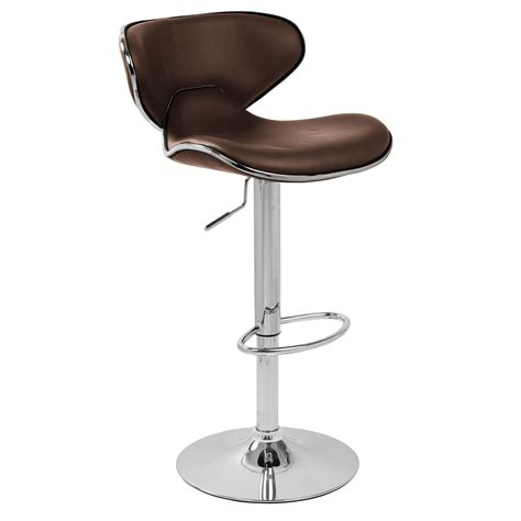 bar stool images carcaso bar stool brown
