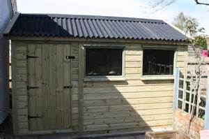 shed roof onduline roof shed the wooden workshop bton devon the wooden workshop oakford devon
