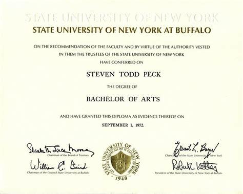 steven peck ba degree