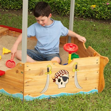 kids play bench kids pirate boat sand pit play bench kids outdoor play