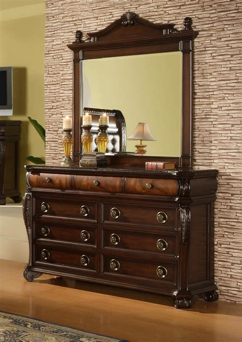hemingway 6 piece bedroom set gonzalez furniture