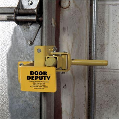 How To Lock A Garage Door Secure Garage Door Lock Wageuzi