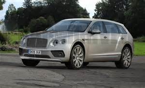 Bentley Suv Msrp 2017 Bentley Bentayga Details Rendering News Car And