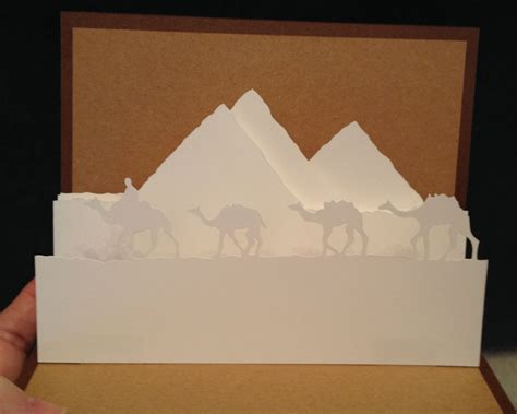 Taj Mahal Pop Up Card Template by Pop Up Card Template From Paysages En Pop Up