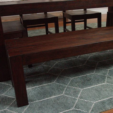 distressed wood bench distressed wood donnovan dining bench world market