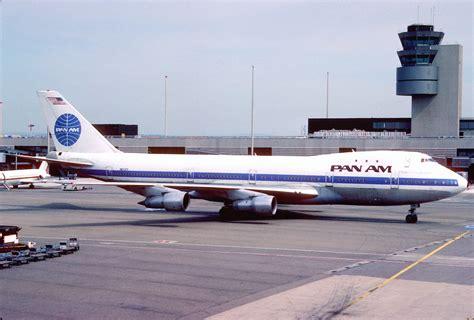 pan am file pan am boeing 747 121 n655pa zrh july 1985