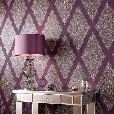 wallpapers for bedrooms walls purple and cream bedroom 17 best ideas about purple wallpaper on pinterest purple