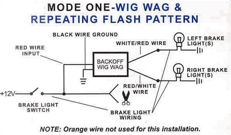 wig wag wiring diagram wig wiring diagram