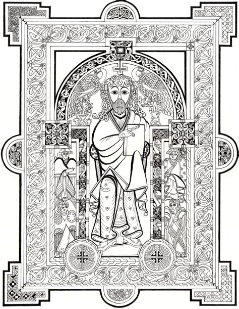 jesus 1 book of kells by phoenix51200 on deviantart