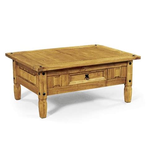 Corona Mexican Pine Furniture Dark Corona Pine Coffee Corona Mexican Pine Coffee Table