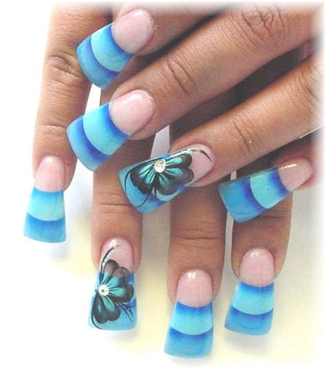 easy acrylic paint nail 40 cool and simple acrylic nail designs hobby lesson