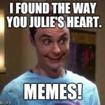 Sheldon Meme Generator - sheldon cooper smile meme generator imgflip