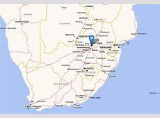 Afrique du Sud Carte et Image Satellite Mabopane South Africa