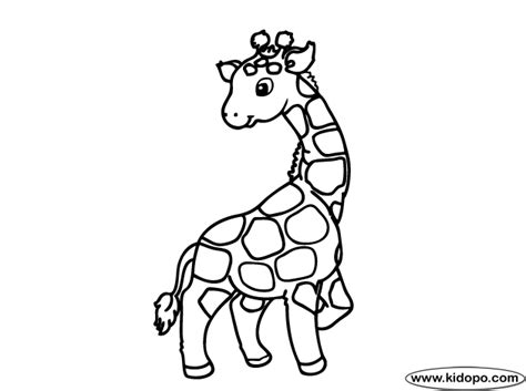 cute giraffe coloring pages cute giraffe coloring page