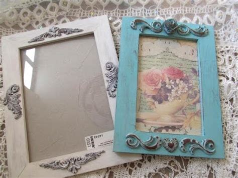 polymer clay tutorial how to make shabby chic frame with polymer clay fimo youtube
