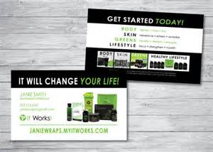 itworks business cards it works business cards by kellibdesignstudio on etsy