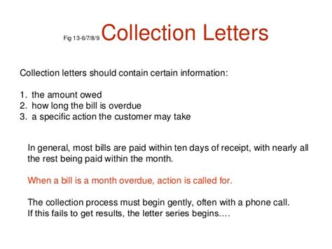 Collection Credit Letter Collection Letter Creating A Collection Letter Invoicing And Collecting Income In Quickbooks
