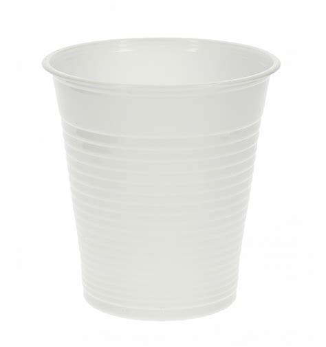 bicchiere di plastica pp bianco 200 ml 100 pezzi