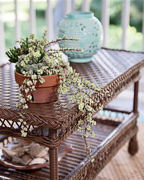 wicker coffee table wicker patio coffee table outdoor