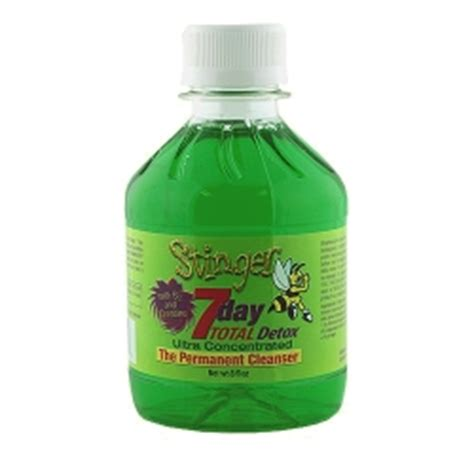 Total Detox Jazz Saliva by Stinger 7 Day Total Detox Drink Best 4 Test