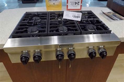 Best Cooktop Ranges - kitchenaid 36 quot gas rangetop review rating kgcu467vss
