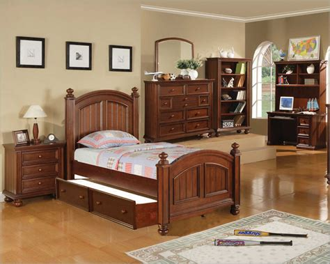 winners only youth bedroom set cape cod in chocolate wo