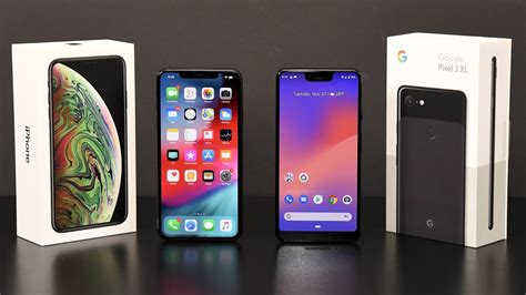 iphone xs max  pixel  xl comparison review youtube