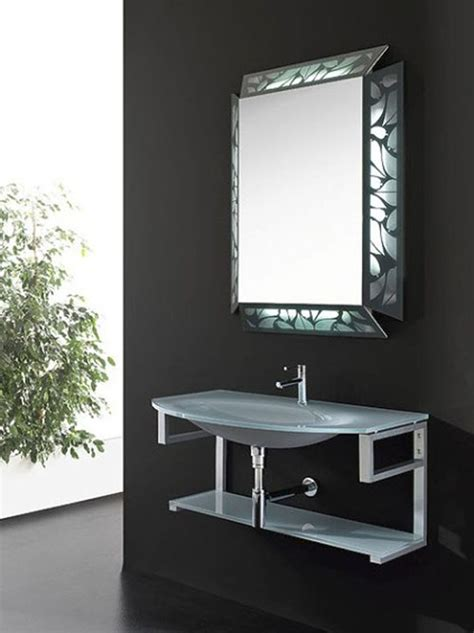 designer mirrors for bathrooms 12 framed bathroom mirrors designs and ideas